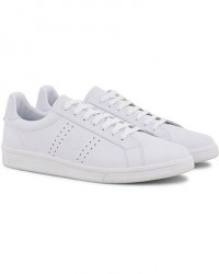 Fred Perry Parkside Leather Sneaker White men 40 Hvid