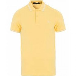 Fred Perry Twin Tip Polo Yellow