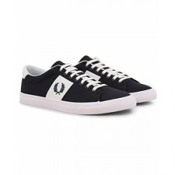Fred Perry Underspin Twill Sneaker Navy