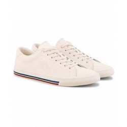 Fred Perry Underspine Leather Sneaker Off White