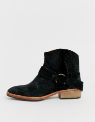 Free People bandalier ankle boot - Black