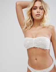 Free People Galloon Lace Bandeau - White