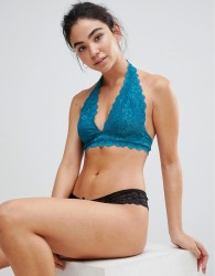 Free People Galloon Lace Halter - Green