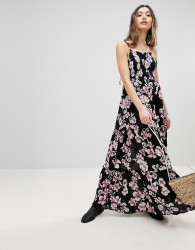Free People Garden Party Maxi Dress - Grey