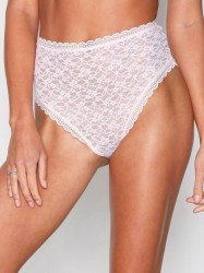 Free People Lace Dreams High Waisted Brazilian Rosa/Lyserød
