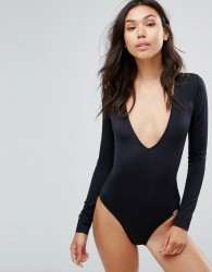 Free Society Long Sleeve Swimsuit - Green