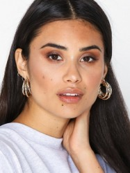 Freedom by Topshop Layered Tube Hoop Ørering Gold