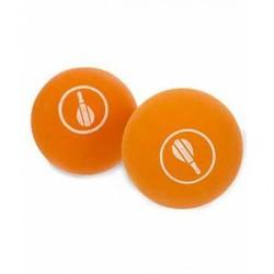 Frescobol Carioca 2 Ball Set Orange Balls