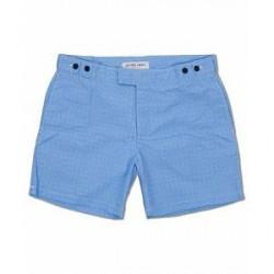 Frescobol Carioca Trunks Tailored Angra Print Blue