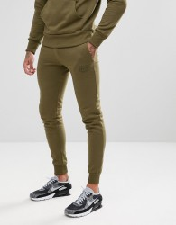 Friend or Faux Decked Slim Fit Joggers - Green
