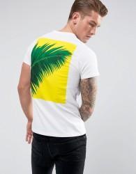 Friend or Faux Fletcher Back Print T-Shirt - White
