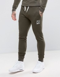 Friend or Faux Kennedy Slim Fit Joggers - Green