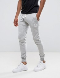 Friend or Faux Kennedy Slim Fit Joggers - Grey