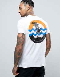 Friend or Faux Opal Back Print T-Shirt - White