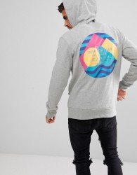 Friend or Faux Sanko Back Print Hoodie - Grey