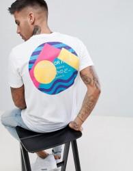 Friend or Faux Sanko Back Print T-Shirt - White