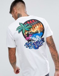 Friend or Faux Slick Back Print T-shirt - White