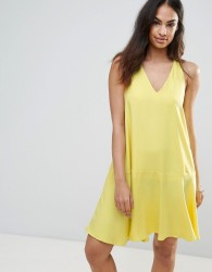 FRNCH Swing Dress - Yellow