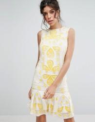 Frock & Frill Sequin Shift Mini Dress - White