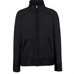 Fruit of the Loom Lady-Fit Sweat Jacket - Black * Kampagne *