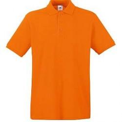 Fruit of the Loom Premium Polo - Orange - Large