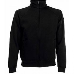 Fruit of the Loom Sweat Jacket - Black * Kampagne *