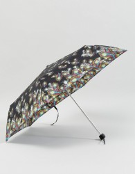 Fulton Superslim 2 Peacock Umbrella - Black