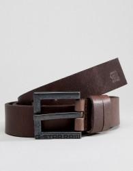 G-Star Duko Cuba Leather Belt - Brown