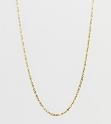 Galleria Armadoro gold plated links chain necklace - Gold
