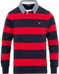 GANT Barstripe Rugger Red men L
