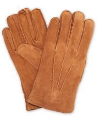 GANT Classic Suede Gloves Khaki men L Brun