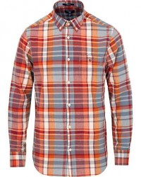 GANT Fall Madrass Check Shirt Dessert Brown