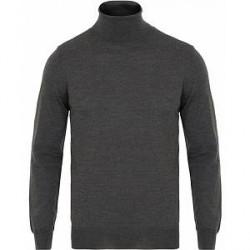 GANT Fine Merino/Wool Turtleneck Antracite Melange