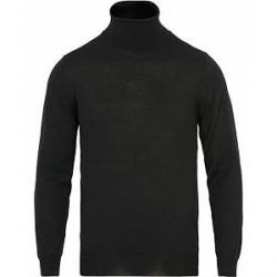 GANT Fine Merino/Wool Turtleneck Black