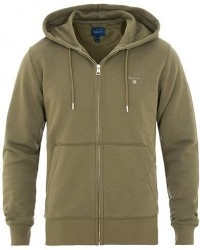 GANT Full Zip Hoodie Field Green men L