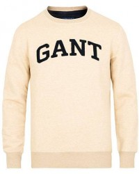 GANT Gift Giving Crew Neck Sweatshirt Manila Melange