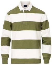 GANT Hugger Barstripe Rugger Four Leaf Green men XXL Hvid