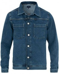 GANT Indigo Jeans Jacket Blue Wash men L