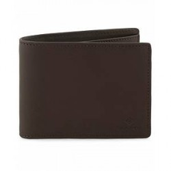 GANT Leather Wallet Black Coffee
