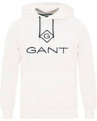 GANT Lock Up Hoodie Eggshell men M