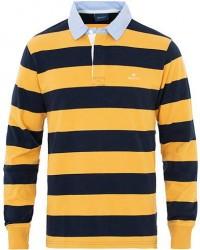 GANT New Heavy Striped Rugger Honey Gold men XL