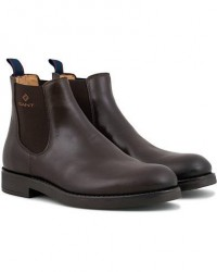 GANT Oscar Chelsea Boot Dark Brown Calf