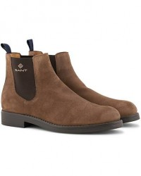 GANT Oscar Chelsea Boot Matt Brown Suede