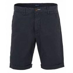 GANT Regular Sunbleached Shorts Evening Blue