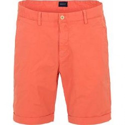 GANT Regular Sunbleached Shorts Strong Coral