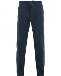 GANT Relax Linen Drawstring Trousers Marine men W32L32