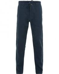 GANT Relax Linen Drawstring Trousers Marine men W33L32