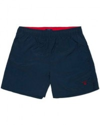 GANT Solid Swim Boxer Navy men M Blå