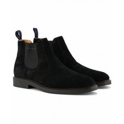 GANT Spencer Chelsea Boot Black Suede