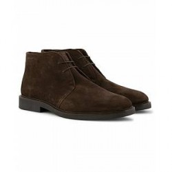 GANT Spencer Chukka Boot Dark Brown Suede
